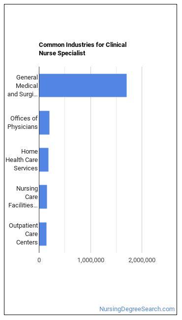 Clinical Nurse Specialist Industries