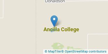 Location of Ancilla College