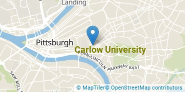 Location of Carlow University
