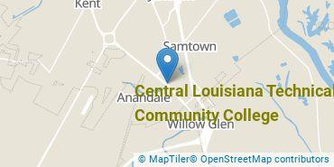Location of Central Louisiana Technical Community College