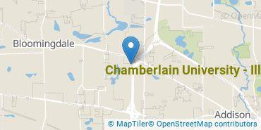 Location of Chamberlain University - Illinois
