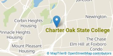 Location of Charter Oak State College