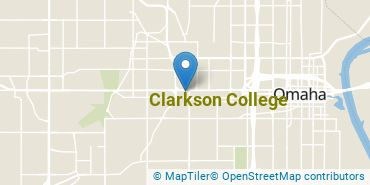 Location of Clarkson College