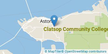 Location of Clatsop Community College