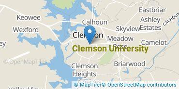 Location of Clemson University