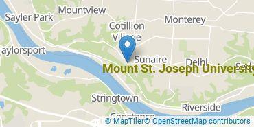 Location of Mount St. Joseph University