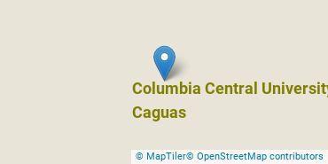 Location of Columbia Central University - Caguas