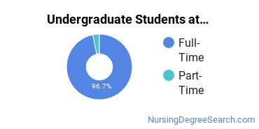 Full-Time vs. Part-Time Undergraduate Students at  Creighton