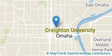Location of Creighton University