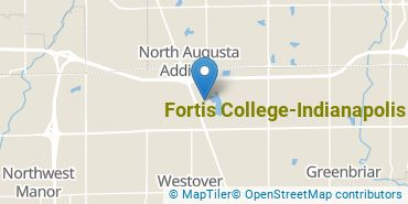 Location of Fortis College - Indianapolis