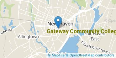 Location of Gateway Community College