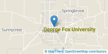 Location of George Fox University