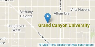 Location of Grand Canyon University