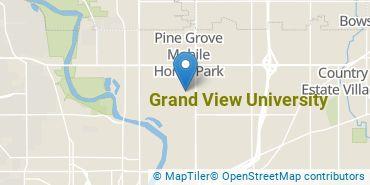 Location of Grand View University