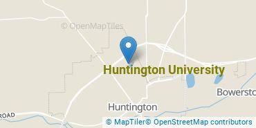 Location of Huntington University