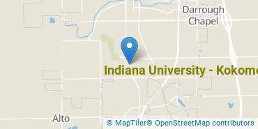Location of Indiana University - Kokomo