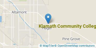 Location of Klamath Community College