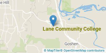 Location of Lane Community College