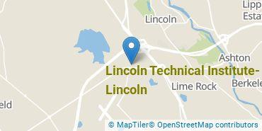 Location of Lincoln Technical Institute - Lincoln