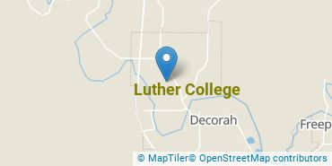 Location of Luther College