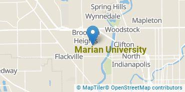 Location of Marian University