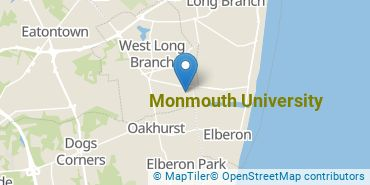 Location of Monmouth University