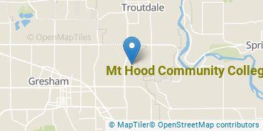 Location of Mt. Hood Community College