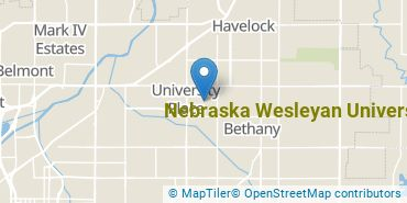 Location of Nebraska Wesleyan University