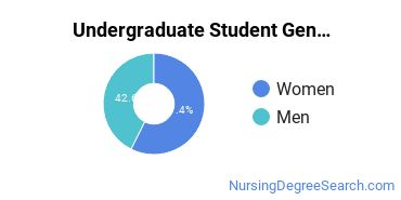 Undergraduate Student Gender Diversity at  NWU
