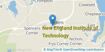 Location of New England Institute of Technology