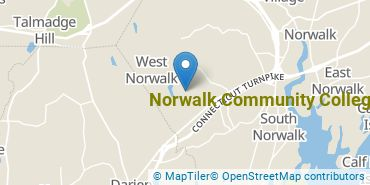Location of Norwalk Community College