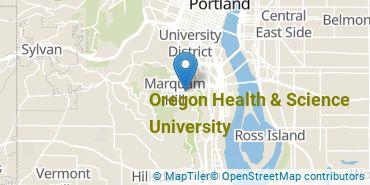 Location of Oregon Health & Science University