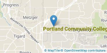 Location of Portland Community College