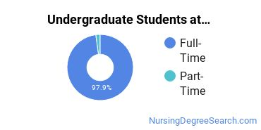 Full-Time vs. Part-Time Undergraduate Students at  St. Mary's College