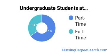 Full-Time vs. Part-Time Undergraduate Students at  Northern Wyoming Community College District