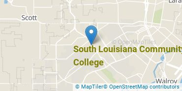 Location of South Louisiana Community College