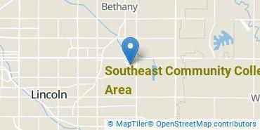 Location of Southeast Community College Area