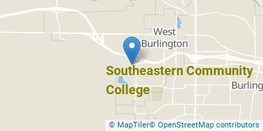 Location of Southeastern Community College