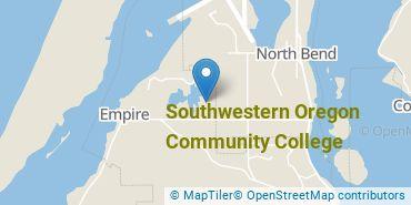 Location of Southwestern Oregon Community College