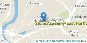 Location of Stone Academy-East Hartford