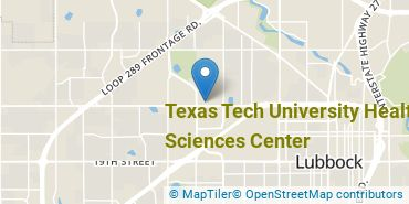 Location of Texas Tech University Health Sciences Center