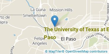 Location of The University of Texas at El Paso