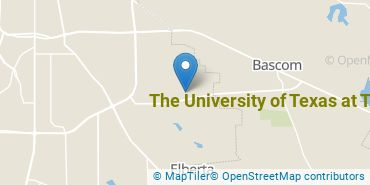 Location of The University of Texas at Tyler
