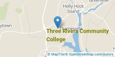 Location of Three Rivers Community College
