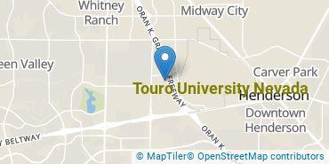 Location of Touro University Nevada