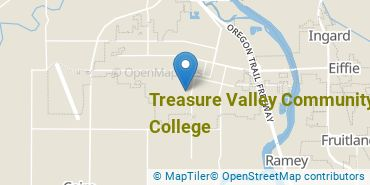 Location of Treasure Valley Community College