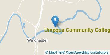 Location of Umpqua Community College