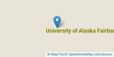 Location of University of Alaska Fairbanks
