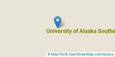 Location of University of Alaska Southeast