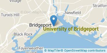 Location of University of Bridgeport
